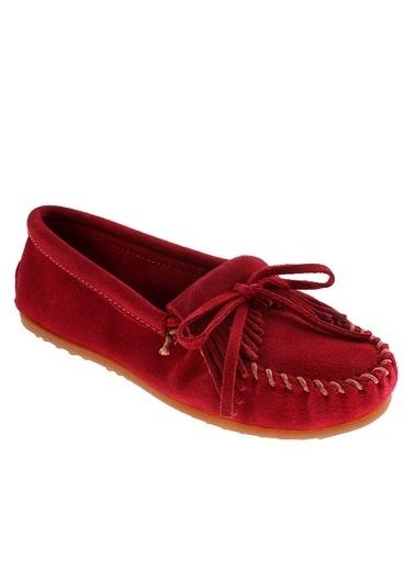 Mınnetonka Ayakkabı Kırmızı